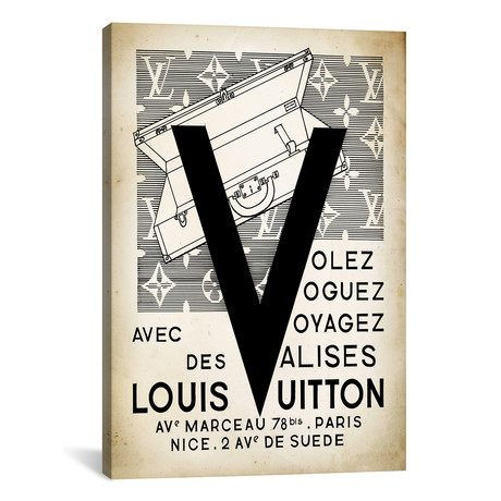 LV Valise by PatentPrintStore