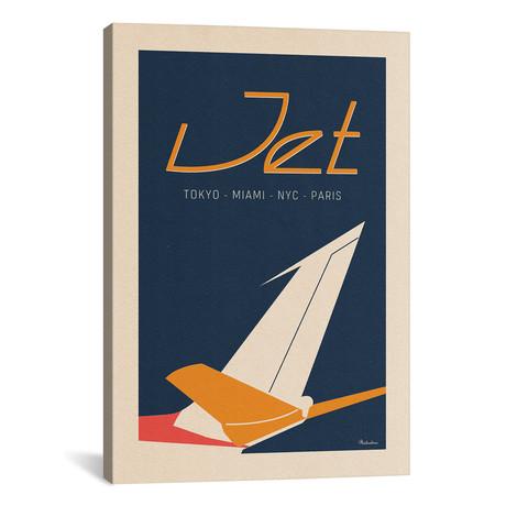 """Jet // Misteratomic (26""""W x 40""""H x 1.5""""D)"""