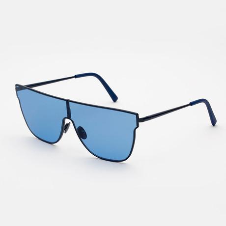 Lenz Flat Top // Blue