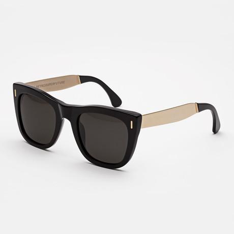 Gals Francis Sunglasses // Black + Gold