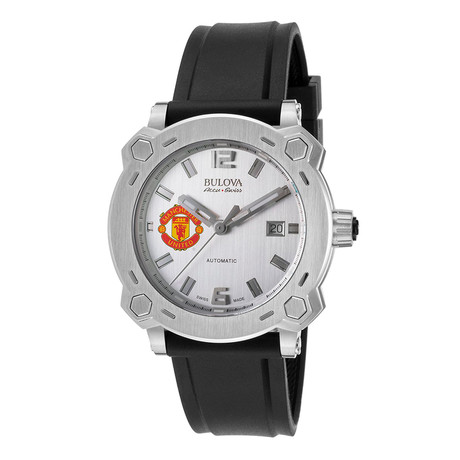 Bulova Accu Swiss Percheron Manchester United Automatic // 63B195