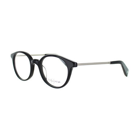 Unisex YY-1008-019 Round Glasses // Black