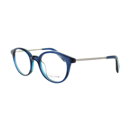 Unisex YY-1008-620 Round Glasses // Blue