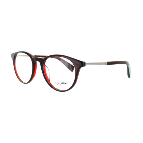 Unisex YY-1009-219 Round Glasses // Wine