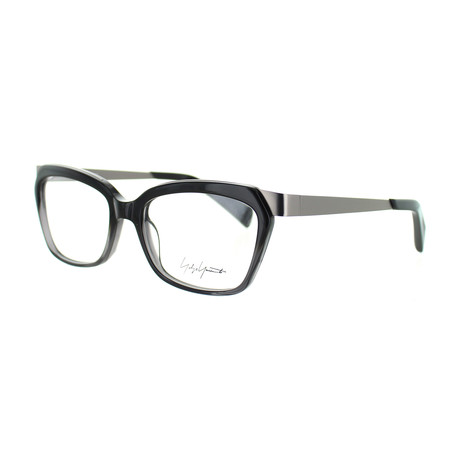 Unisex YY-1014-909 Square Glasses // Gray Fade