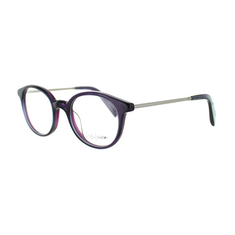 Unisex YY-1008-717 Round Glasses // Purple