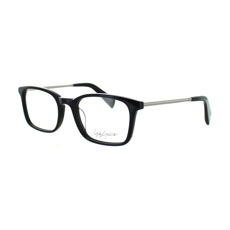 Unisex YY-1007-019 Square Glasses // Black
