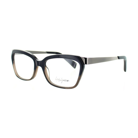 Unisex YY-1014-621 Square Glasses // Navy Fade