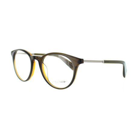 Unisex YY-1009-118 Round Glasses // Brown