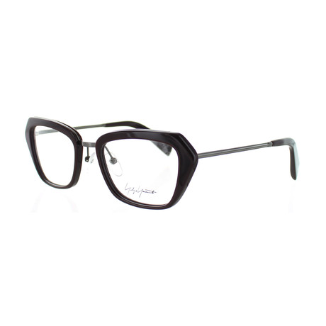 Unisex YY-1005-216 Square Glasses // Wine