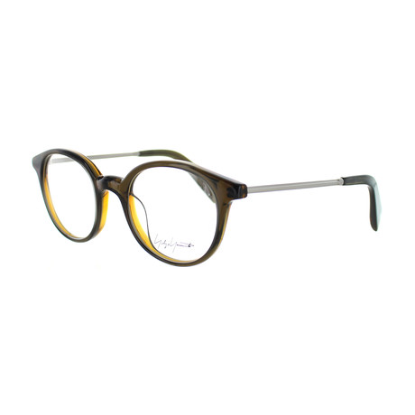 Unisex YY-1008-118 Round Glasses // Brown