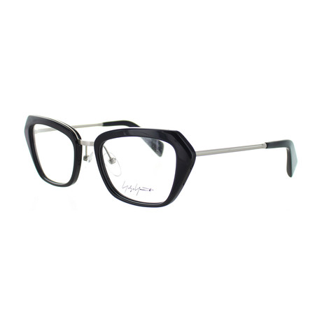 Unisex YY-1005-613 Square Glasses // Navy