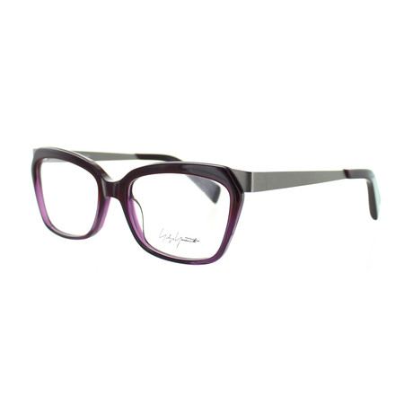 Unisex YY-1014-710 Square Glasses // Purple Fade