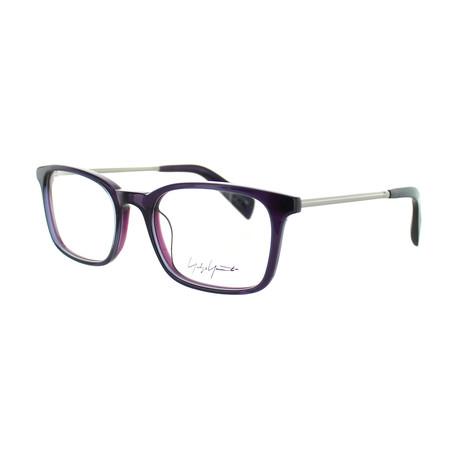 Unisex YY-1007-717 Square Glasses // Purple