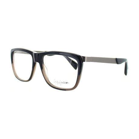 Unisex YY-1015-621 Square Glasses // Navy Fade