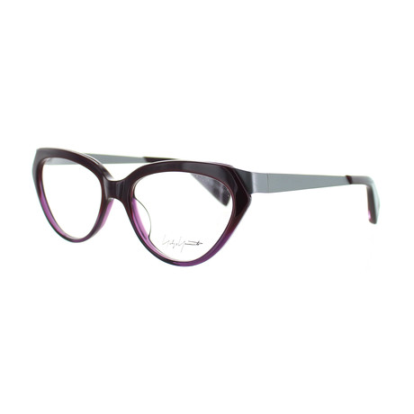 Unisex YY-1011-710 Oval Glasses // Purple Fade