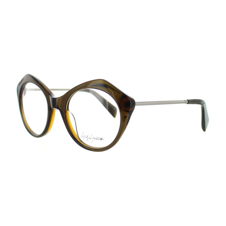 Unisex YY-1004-118 Cat Eye Glasses // Brown