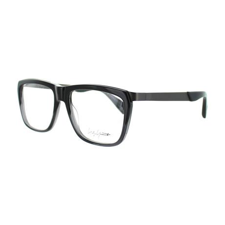Unisex YY-1015-909 Square Glasses // Gray Fade