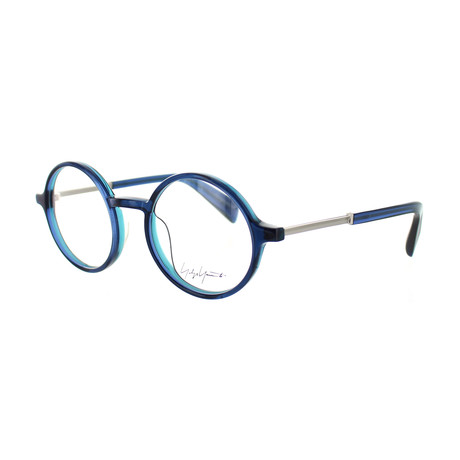 Unisex YY-1006-620 Round Glasses // Blue