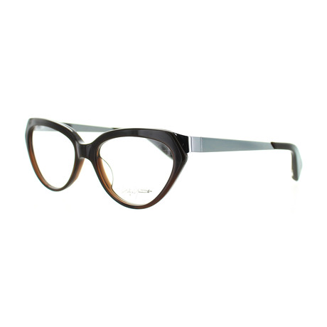 Unisex YY-1011-108 Oval Glasses // Brown Fade