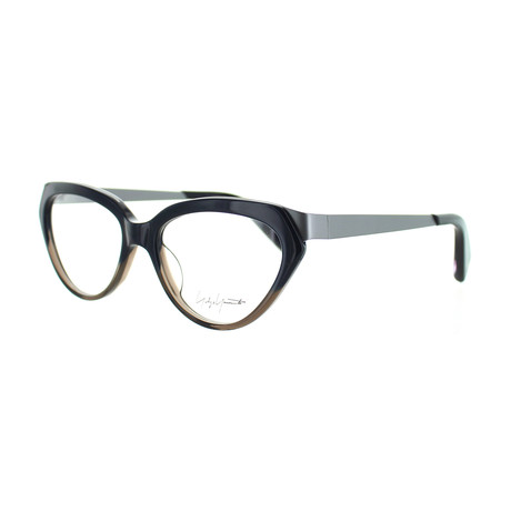 Unisex YY-1011-621 Oval Glasses // Navy Fade