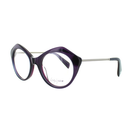 Unisex YY-1004-717 Cat Eye Glasses // Purple