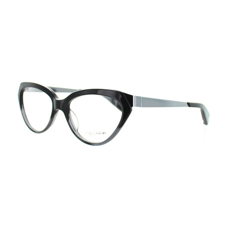 Unisex YY-1011-909 Oval Glasses // Gray Fade