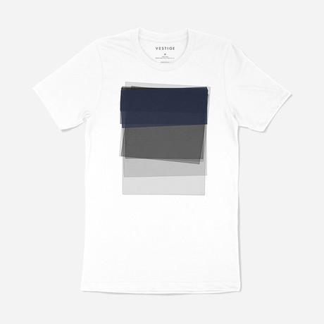 Sunken Graphic T-Shirt // White (S)