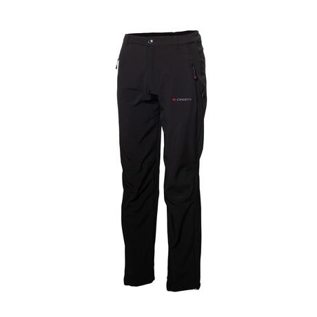 Zipper Pockets Pants // Black (S)