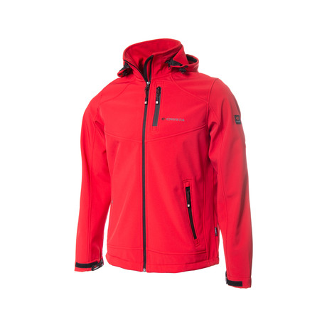 Hooded Weather Proof Jacket // Red (S)