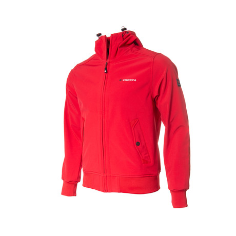 Logo Weather Proof Jacket // Red (S)