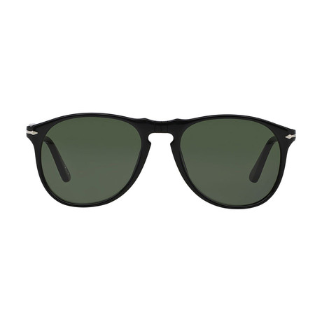Men's Iconic 649 Evolution Sunglasses // Black + Green (52mm)