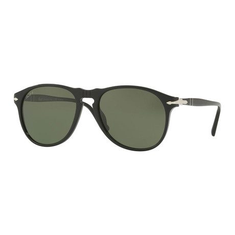 Men's 649 Series Polarized Sunglasses // Black + Green
