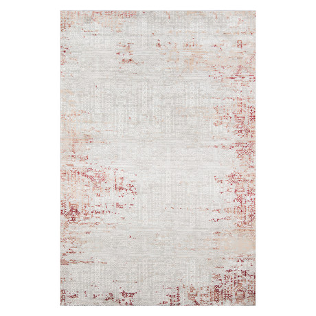 "Aria Red Rug // 9'3"" X 12'6"" Area Rug"
