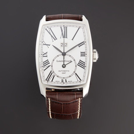 Louis Erard 1931 Collection GMT Automatic // 69101AA04.BMA19 // New
