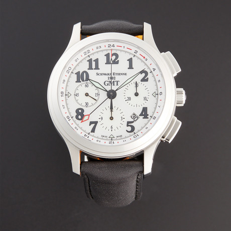 Schwarz Etienne Olympia Chronograph GMT Automatic // WOL10AI17SS02AAA