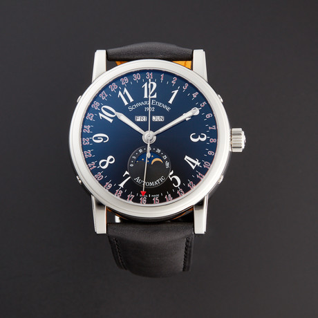 Schwarz Etienne Roma Moonphase Automatic // WRO07AQ01SS02AAA