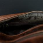 Leather Dopp Bag // Dark Walnut