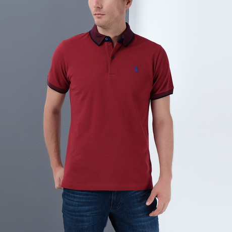 Stevie Polo // Burgundy (Small)