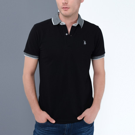 Stevie Polo // Black (Small)