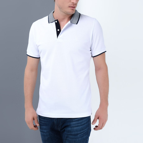 Tanner Polo // White (Small)
