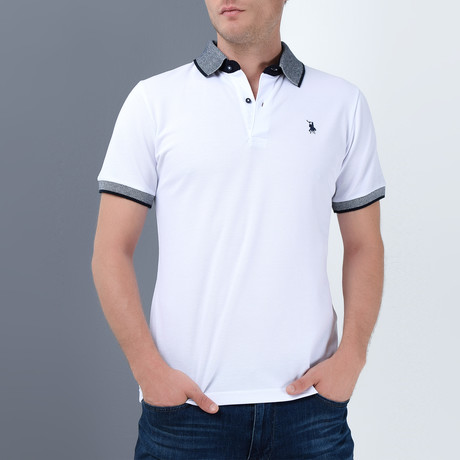 Stevie Polo // White (Small)