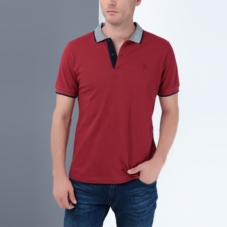 Tanner T-Shirt // Burgundy (Small)