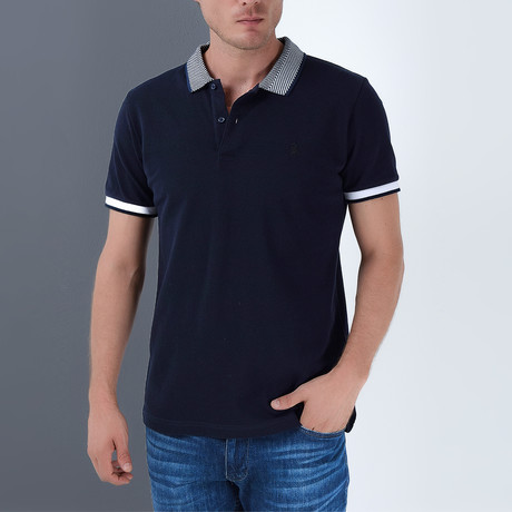 Tanner Polo // Dark Blue (Small)