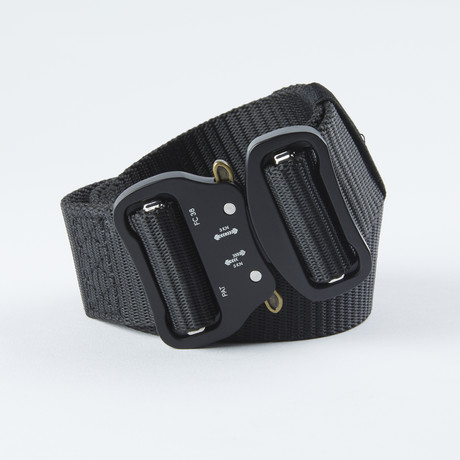 Dual Tactical Utility Belt // Black
