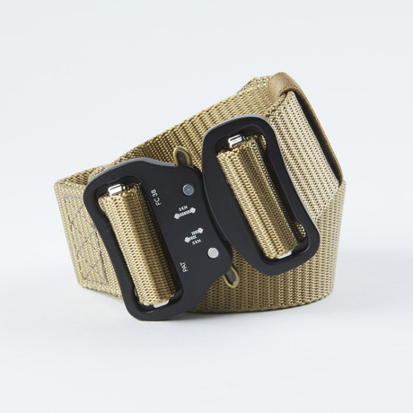 Dual Tactical Utility Belt // Beige