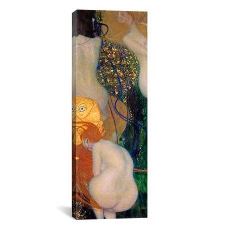 "Goldfish // Gustav Klimt (20""W x 60""H x 0.75""D)"