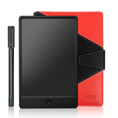 Newyes Digitized Notebook // Black + Red