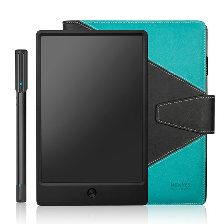 Newyes Digitized Notebook // Black + Blue