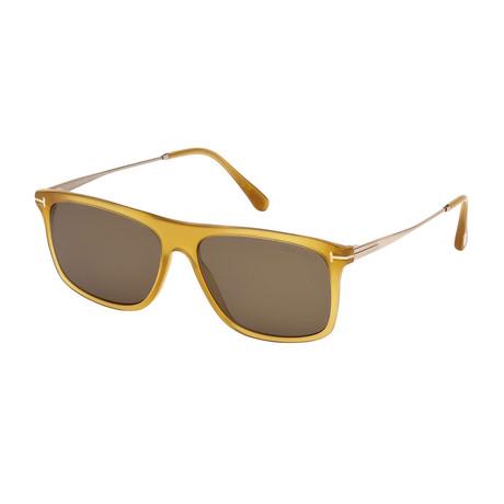 Men's Max Sunglasses // Shiny Yellow + Roviex